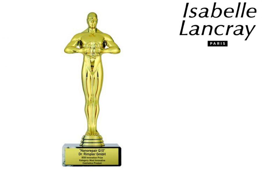 Új kozmetikai Oscar-díj az Isabelle Lancray-nek!